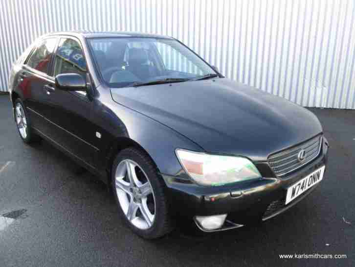 2000 (W) LEXUS IS 2.0 200 SPORT 4DR