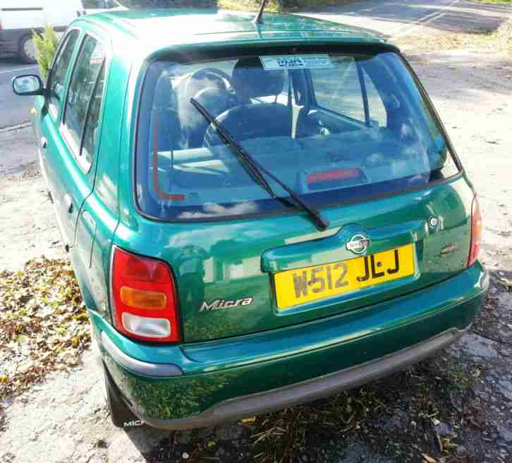 2000 (W) Nissan Micra 1.3 16v ( a/c ) Celebration Ltd Edn 5-door Hatchback