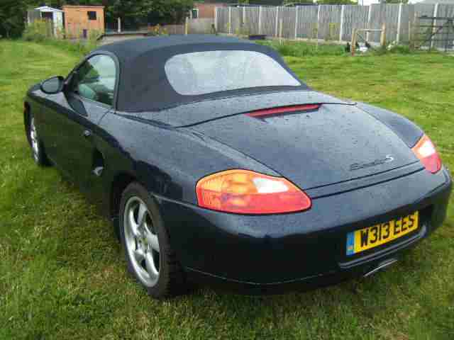 porsche 2000 w reg boxster s 3 2 2000my full service history car for sale. Black Bedroom Furniture Sets. Home Design Ideas