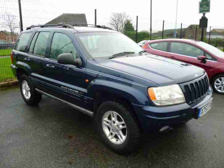 2000 X Grand Cherokee 3.1TD auto Limited