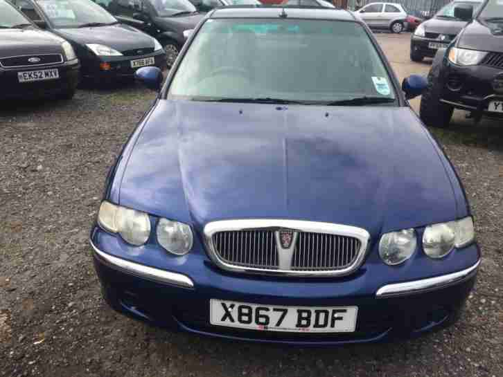 2000/X Rover 45 1.4 16v iE MOT EXCELLENT RUNNER