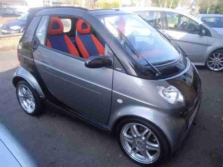 smart 2000 x mcc pulse black one off car for sale. Black Bedroom Furniture Sets. Home Design Ideas