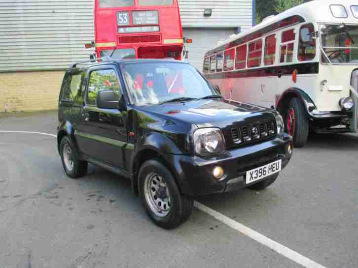 2000 x,reg SUZUKI JIMNY JLX 1.3 hard top 4x4 jeep only 76,000mls. must be seen