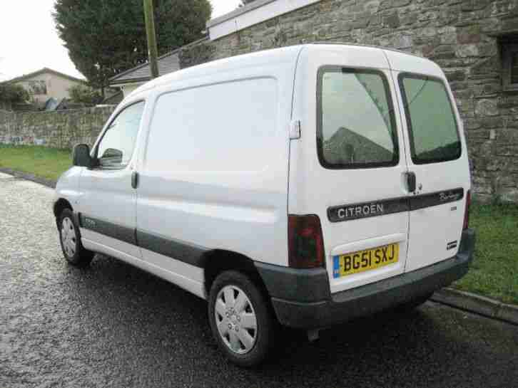 2001 51 Citroen Berlingo 800 LX 2.0 HDI VAN IN WHITE