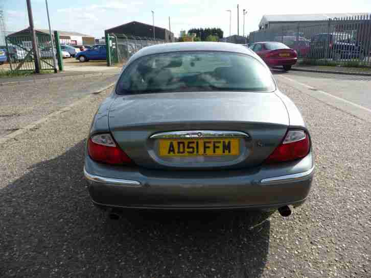 2001 '51' Jaguar S-Type V8, 4.0 Petrol, Automatic, 4 Door Saloon, Grey,