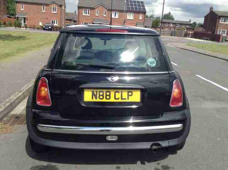 2001-51 MINI MINI ONE BLACK FULL MOT LAST OWNER SINCE 2007 BARGAIN