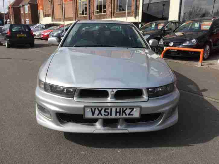 2001 51 MITSUBISHI GALANT 2.5 V6 SPORT 4D 159 BHP DEALER PART EXCHANGE
