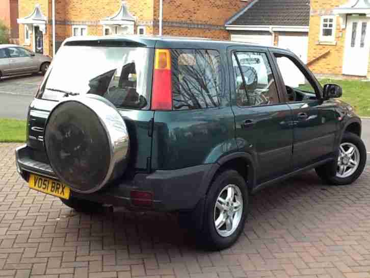 2001 / 51 REG HONDA CRV CR-V 2.0 WEST ONE 4WD 5 DR SUV ESTATE VERY CLEAN & TIDY