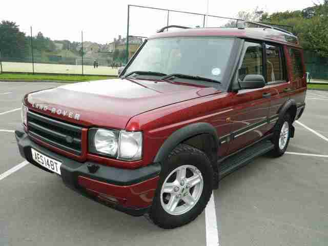 ★★2001 51 REG LAND ROVER DISCOVERY 2.5 TD5 GS (7 SEATS)★★