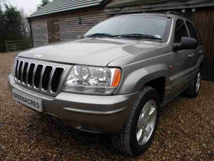 jeep 2001 51 reg grand cherokee 4 7 v8 limited auto car. Black Bedroom Furniture Sets. Home Design Ideas