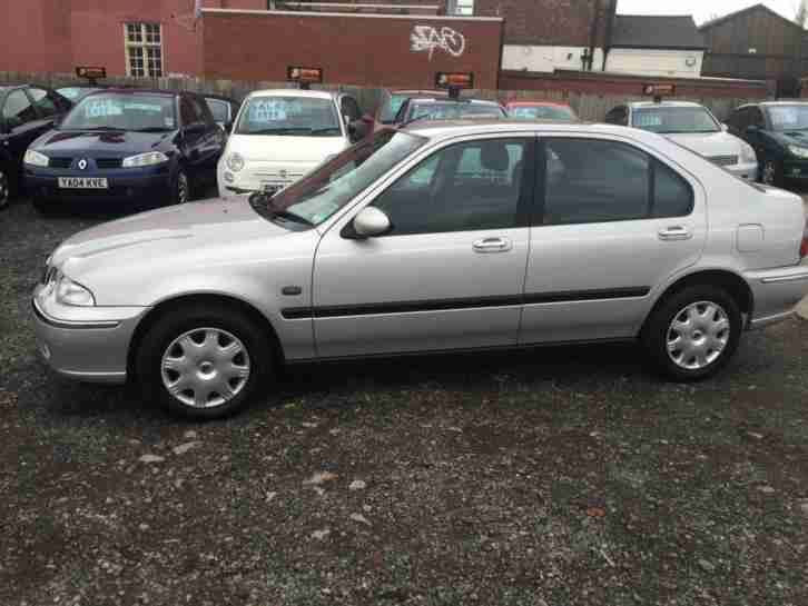 2001/51 Rover 45 1.4i Impression HPI CLEAR LONG MOT EXCELLENT RUNNER
