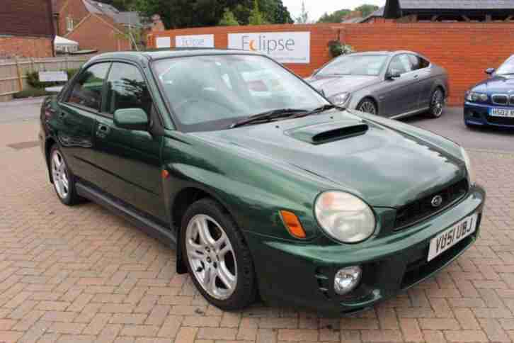 2001 51 IMPREZA 2.0 WRX TURBO AWD 4D