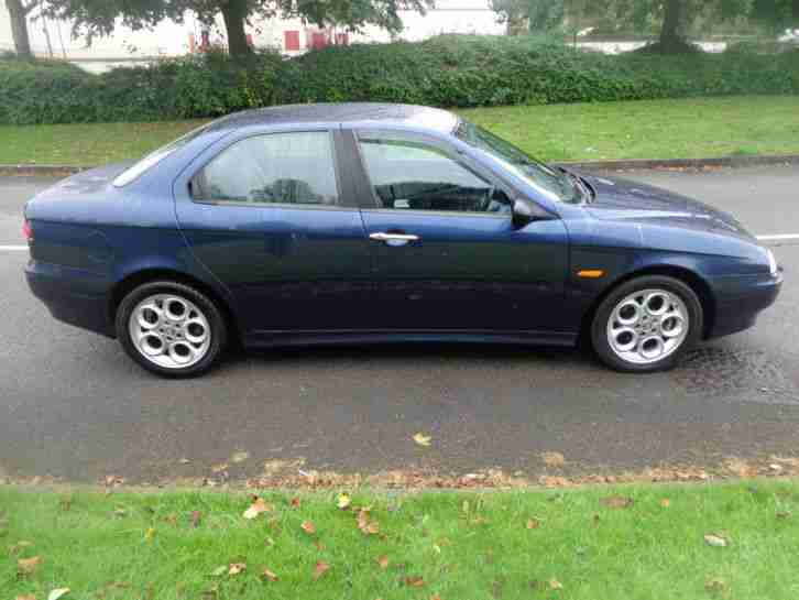 2001 ALFA ROMEO 156 T.SPARK VELOCE BLUE~FULL LEATHER~FULL MOT~DRIVES GREAT~L@@K