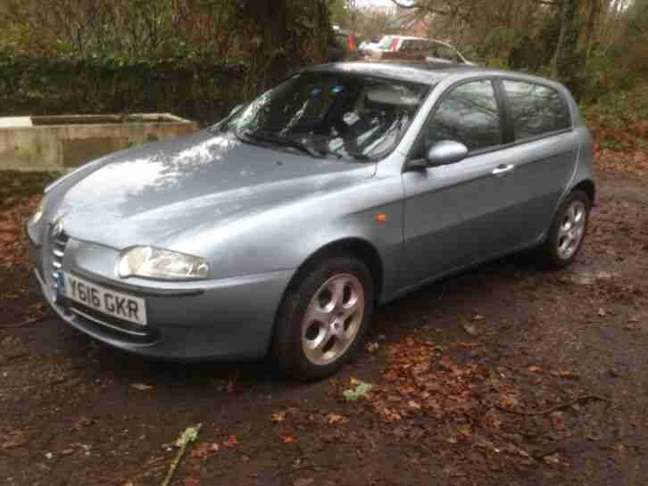 2001 ALFA ROMEO LEFT HAND DRIVE LHD CHRISTMAS PROJECT SPARES OR REPAIR