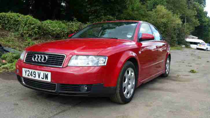 2001 A4 1.8 TURBO SPORT RED LONG MOT P X