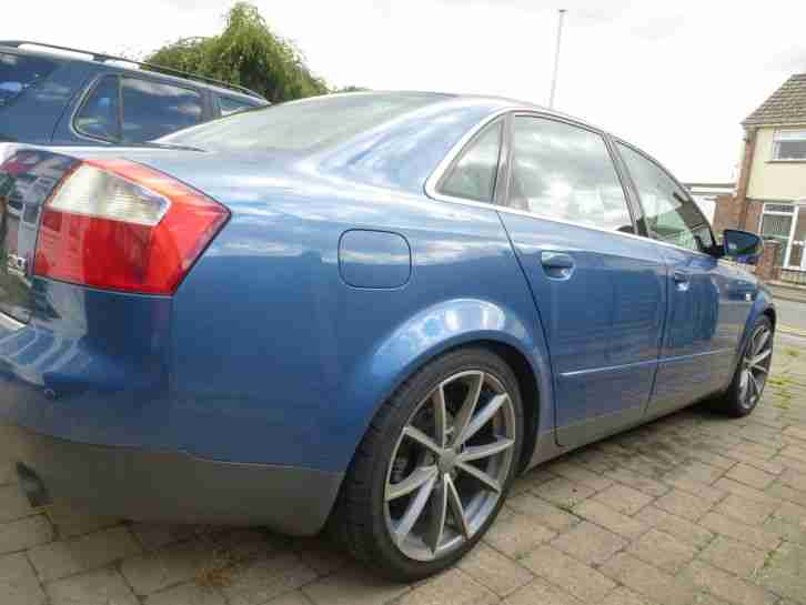 "2001 AUDI A4 SPORT QUATTRO 3.0 AUTO PRIVATE PLATE INC 18"" WHEELS HPI CLEAR"