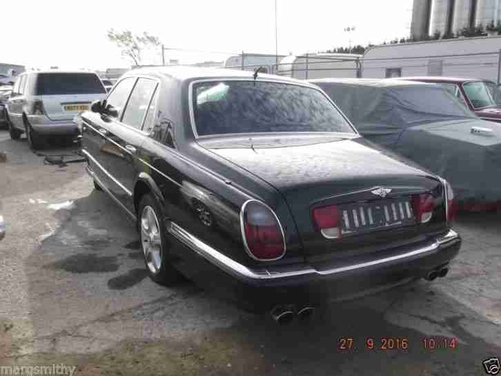 2001 BENTLEY ARNAGE LE-MANS BREAKING FOR SPARES, DAMAGED, PARTING OUT
