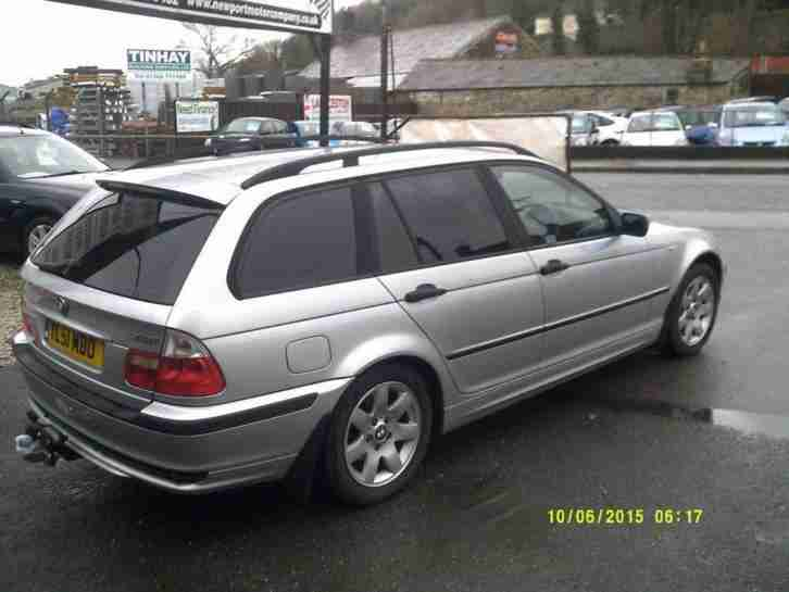 2001 BMW 3 SERIES 318i SE TOURING
