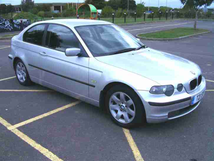 2001 BMW 320TD SE COMPACT 3DR, LOW MILEAGE, FSH, NEW TURBO, REMAP 180 BHP!!