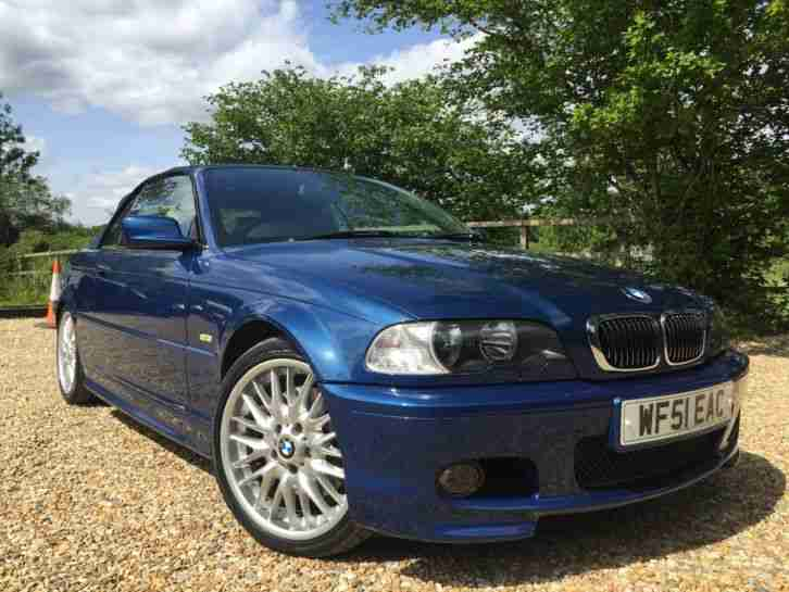 bmw 2001 330 ci m sport auto blue e46 genuine low mileage car car for sale. Black Bedroom Furniture Sets. Home Design Ideas
