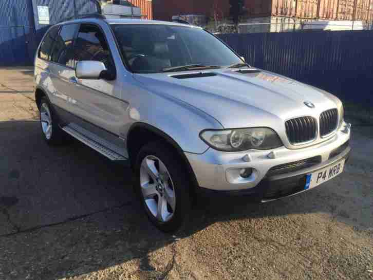 2001 X5 3.0 d SPORT MOT LEATHER SPARES OR