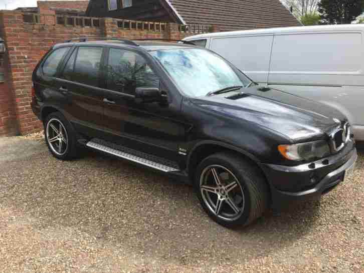 2001 BMW X5 SPORT BLACK 3.0 PETROL MANUAL LONG MOT