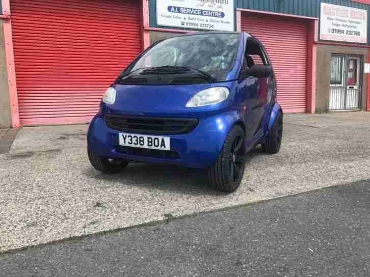 2001 Bike Engined Smart Car Finished Project Kawazki ZX10R Track Drag Race