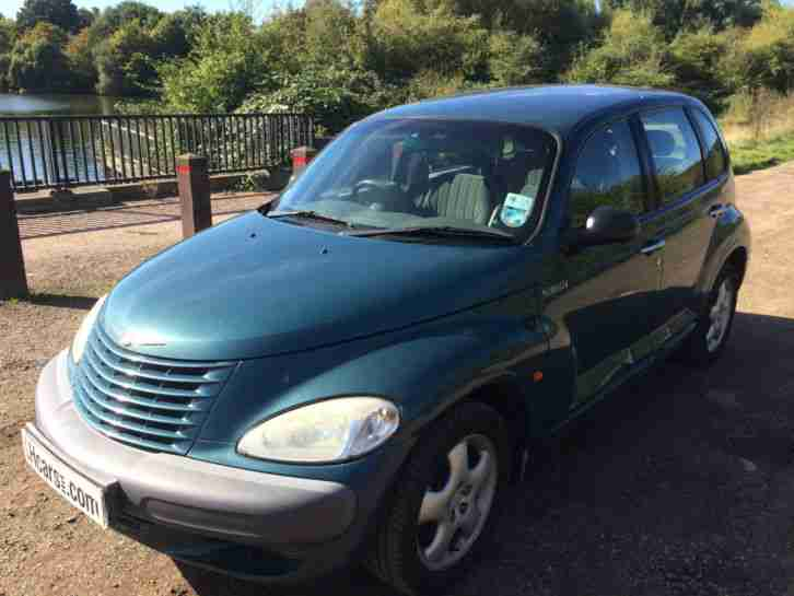 2001 CHRYSLER PT CRUISER TOURING EDITIO BLUE / PART EXCHANGE TO CLEAR