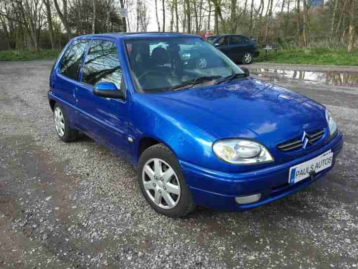 citroen 2001 saxo 1 1i desire blue car for sale. Black Bedroom Furniture Sets. Home Design Ideas