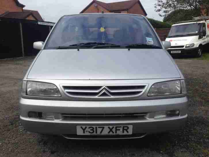 2001 CITROEN SYNERGIE SX HDI SILVER