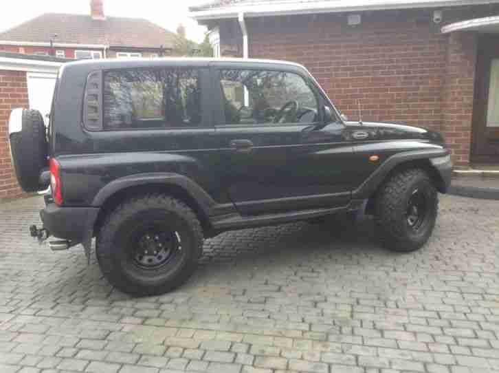 2001 Daewoo Korando Auto Black Off Road Monster Truck Car
