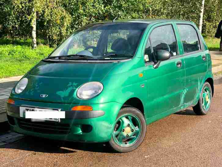 2001 DAEWOO MATIZ 0.8 SE+ MOT SEPT 2021 GREAT FIRST CAR