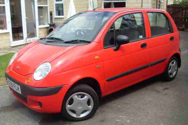 daewoo 2001 matiz se 5 door red car for sale. Black Bedroom Furniture Sets. Home Design Ideas