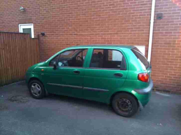 daewoo 2001 matiz se green car for sale. Black Bedroom Furniture Sets. Home Design Ideas