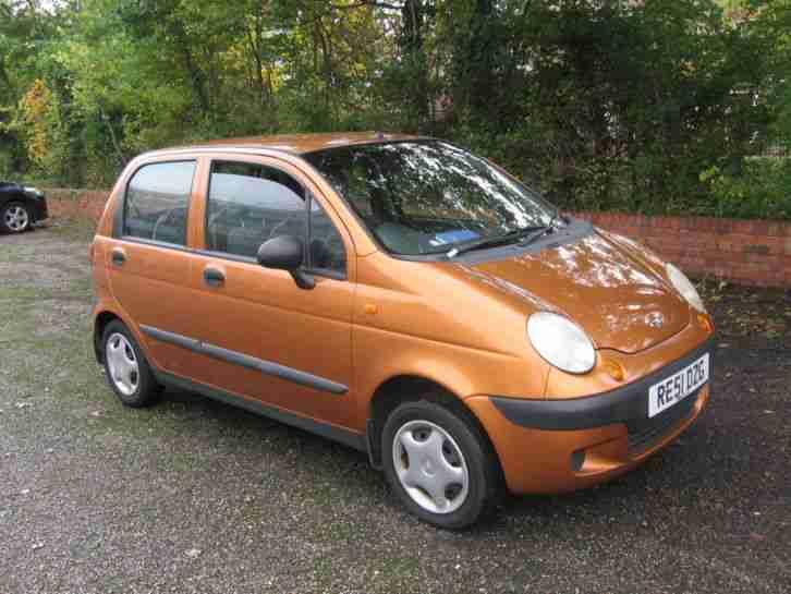 Daewoo 2001 MATIZ SE ORANGE. car for sale