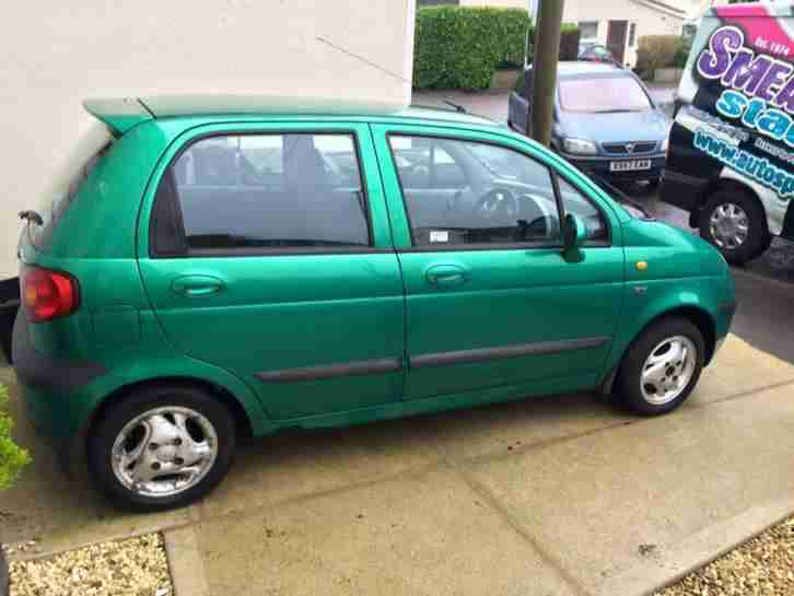 daewoo 2001 matiz se plus green car for sale. Black Bedroom Furniture Sets. Home Design Ideas