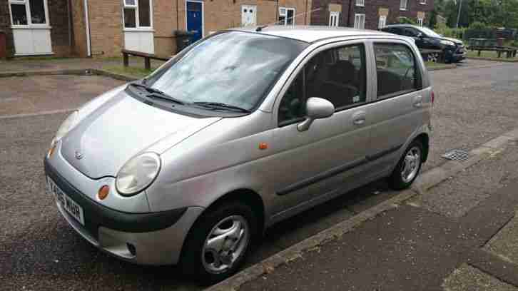 daewoo 2001 matiz se plus silver mot spares or repair car for sale. Black Bedroom Furniture Sets. Home Design Ideas
