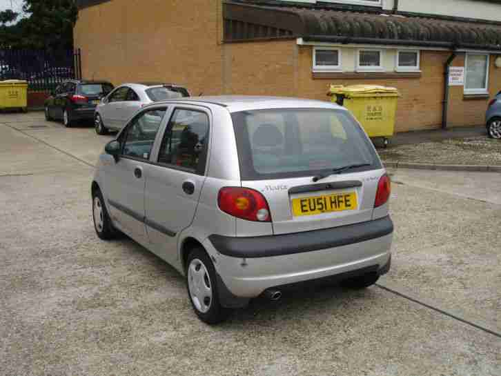 daewoo 2001 matiz se silver car for sale. Black Bedroom Furniture Sets. Home Design Ideas
