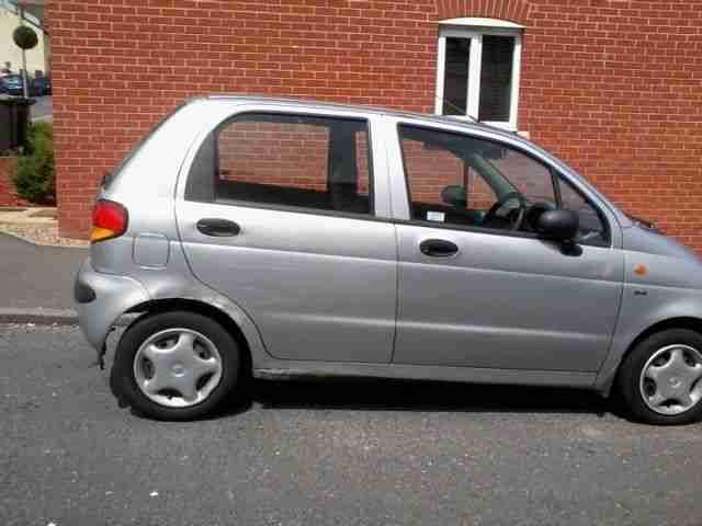 Daewoo 2001 MATIZ SE SILVER. car for sale