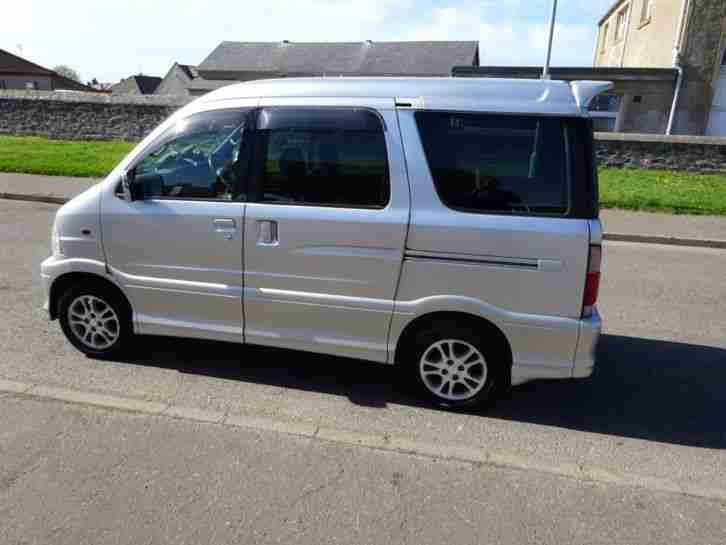 2001 DAIHATSU ATRAI 7 MINI SEVEN SEATER Could make nice mini camper