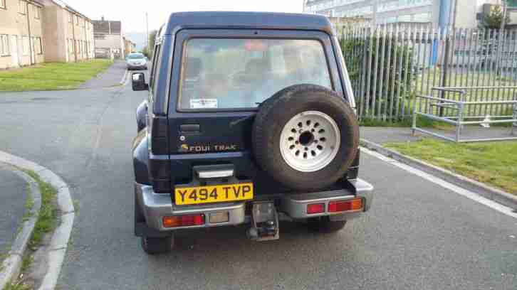 2001 DAIHATSU FOURTRAK INDEPENDENT TDX BLUE
