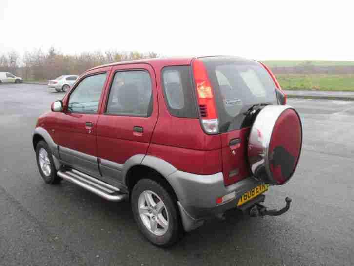 Daihatsu 2001 Terios El 4x4 Jeep 1 3 Petrol 12 Months Mot