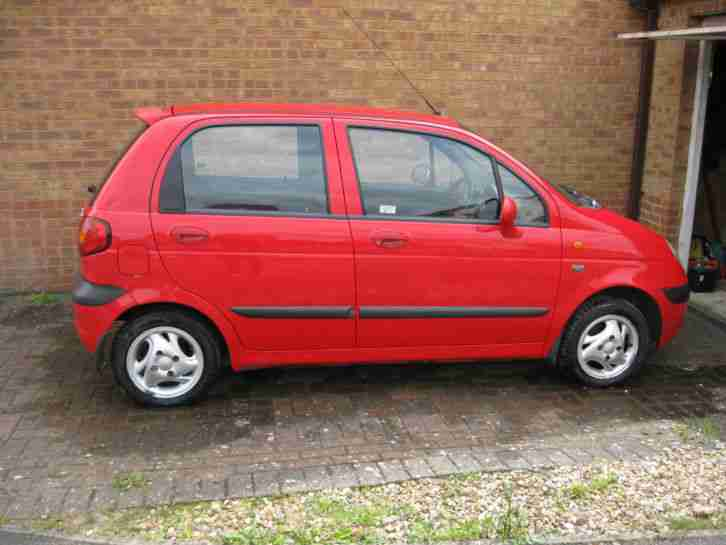 daewoo 2001 matiz se plus 796cc super red car for sale. Black Bedroom Furniture Sets. Home Design Ideas