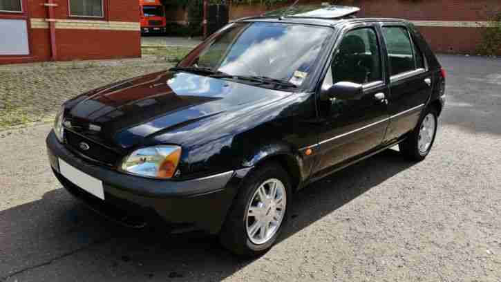 ford 2001 fiesta 1 3 flight black sunroof new mot service p ex to. Black Bedroom Furniture Sets. Home Design Ideas