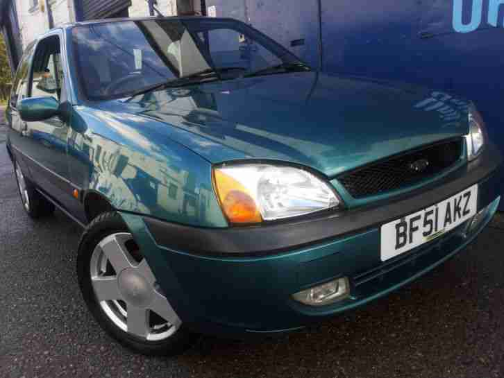 2001 FORD FIESTA 1.3 FREESTYLE GREEN NEW MOT LOVELY IDEAL FIRST CAR
