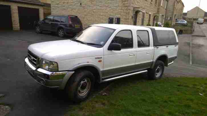 2001 Ranger 2.5 turbo diesel twin cab