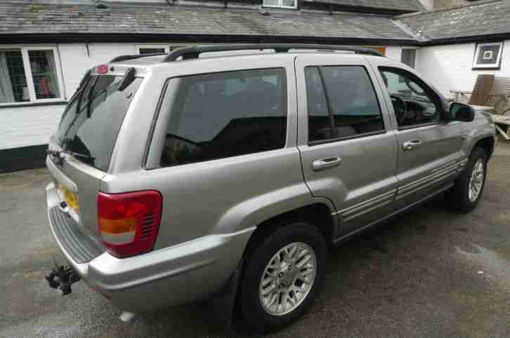 jeep 2001 grand cherokee crd ltd auto silver diesel lady owner car. Cars Review. Best American Auto & Cars Review