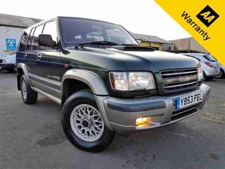 2001 TROOPER 3.0 LWB DT CITATION 5D 157