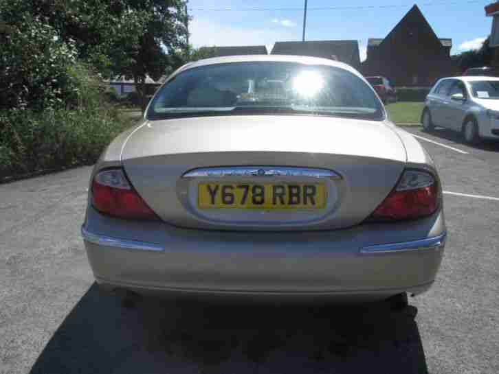 2001 JAGUAR S-TYPE 3.0 SE V6 Automatic Saloon