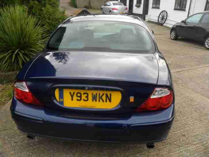 Jaguar S TYPE V6 SPORT AUTO BLUE 119805 MILES, HAS SLIGHT GEARBOX FAULT